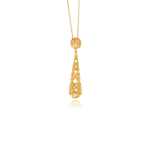 Signature Drop Necklace - Georgina Jewelry