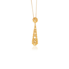 Signature Gold Drop Necklace