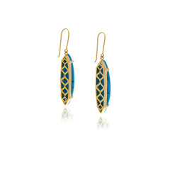 Signature Turquoise Earrings - Georgina Jewelry