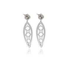 One Leaf Chandelier Line Earring - Georgina Jewelry