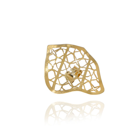 Petal Runway Gold Ring