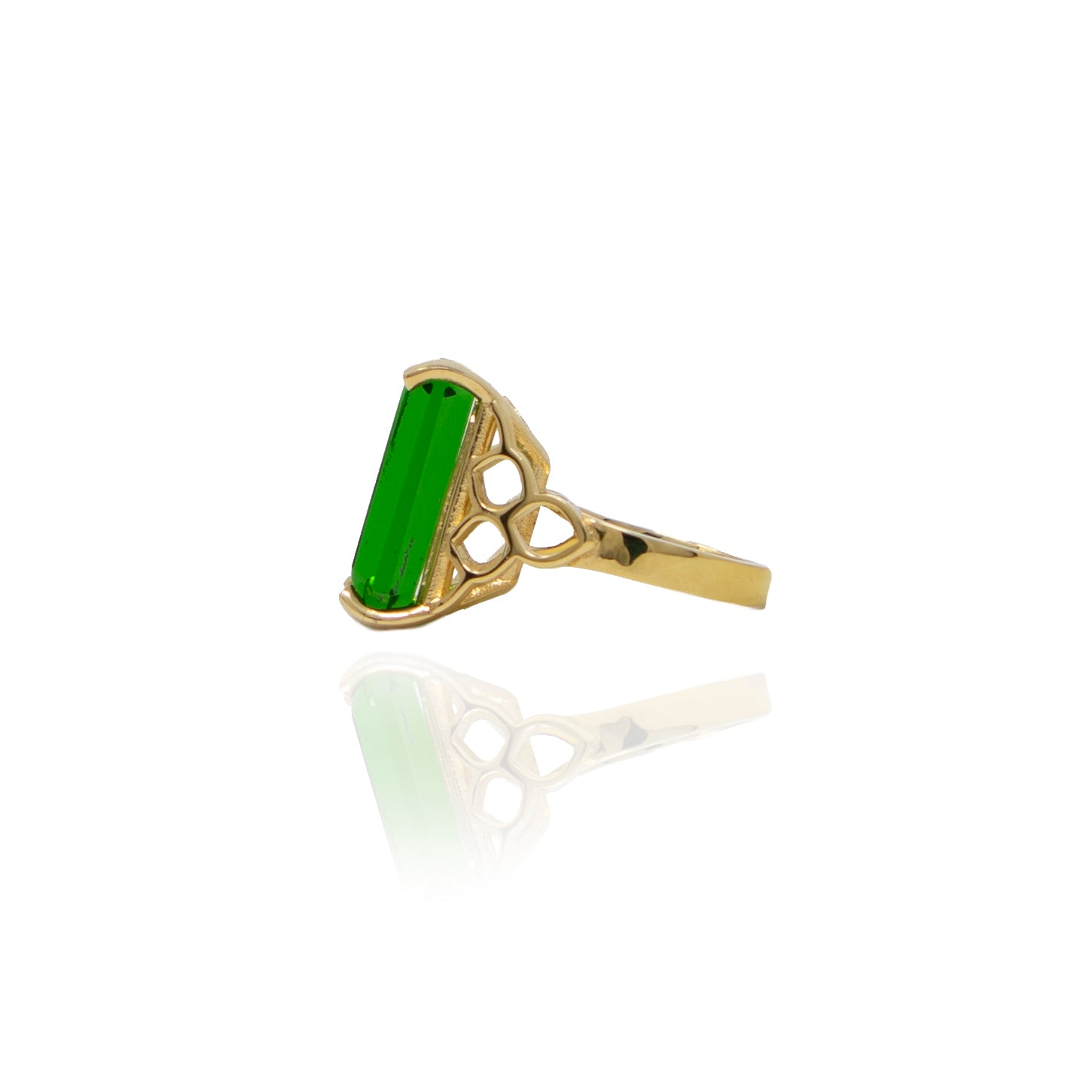Signature Emerald Crystal Ring