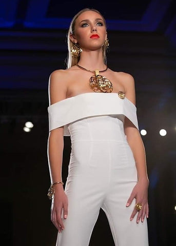 Releve Runway Penacho Necklace