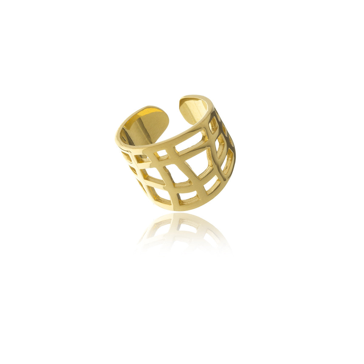 Les Racines Gold Ties Ring - Georgina Jewelry