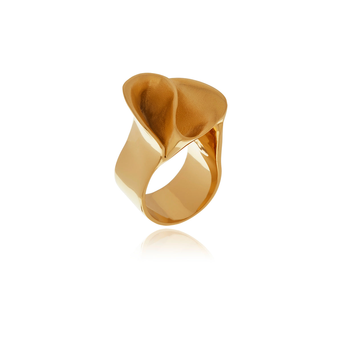 Signature Gold Wave Ring