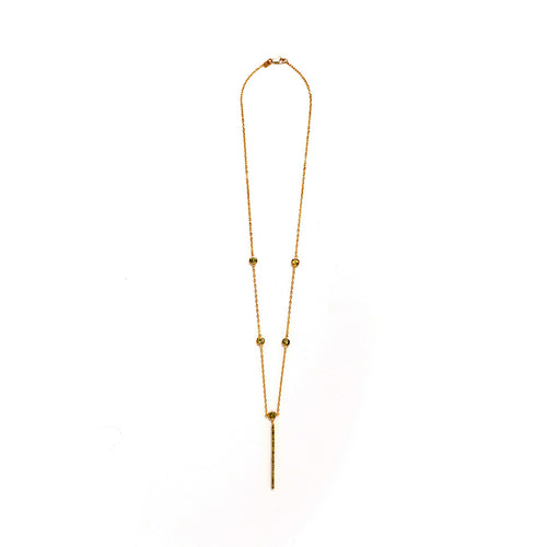 Luxe Bar Necklace - MCK Brands