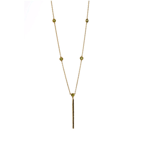 Luxe Bar Necklace - Georgina Jewelry