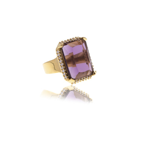 Luxe Crystal Ring