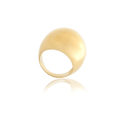 Reverie Gold Smooth Ring - Georgina Jewelry