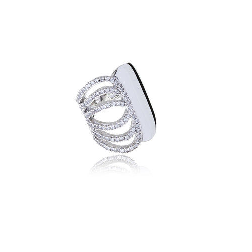 Raffine Diamond Butterfly Ring - Georgina Jewelry