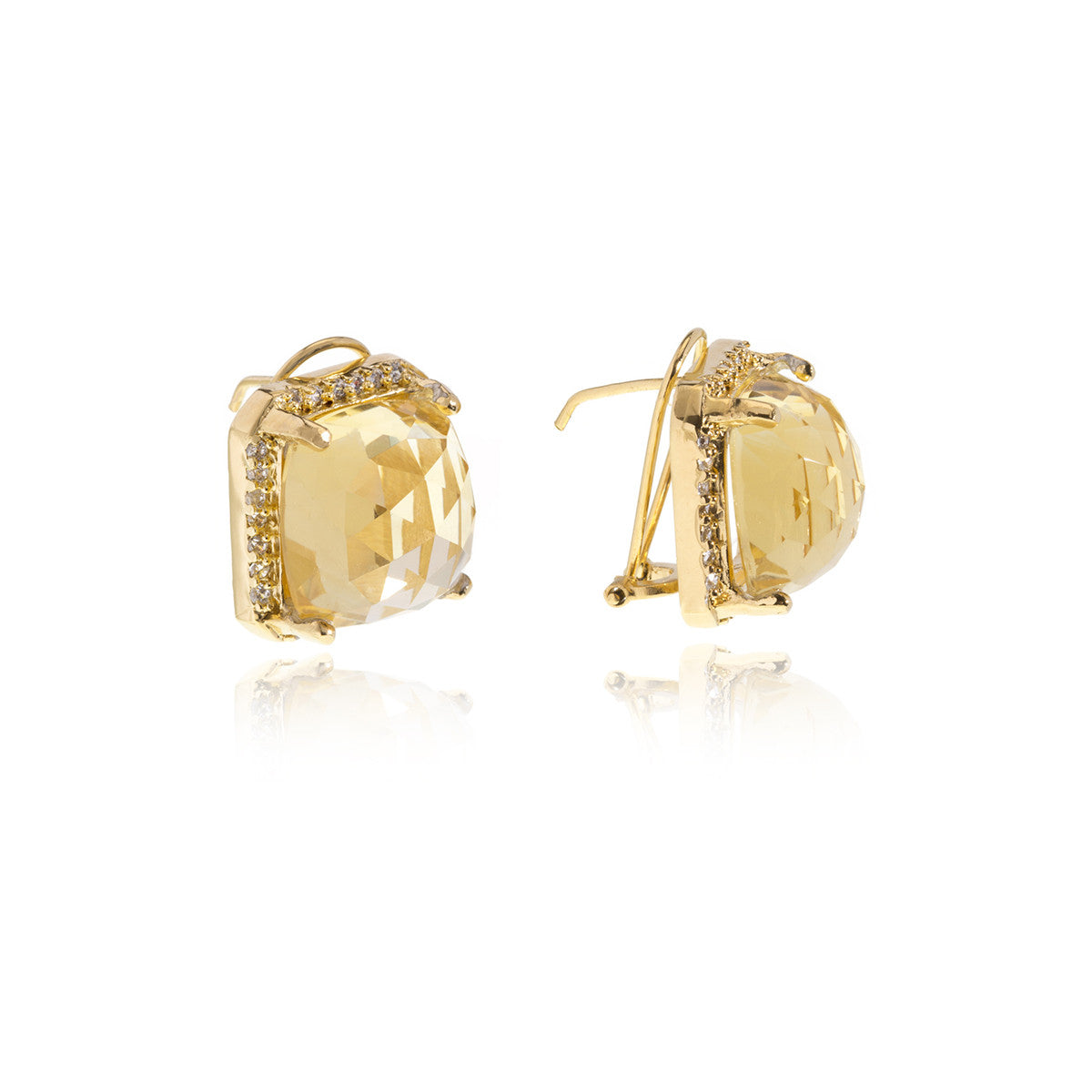 Luxe Gold Earrings - Georgina Jewelry