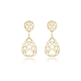 Drop Long Diamond  Earrings - Georgina Jewelry