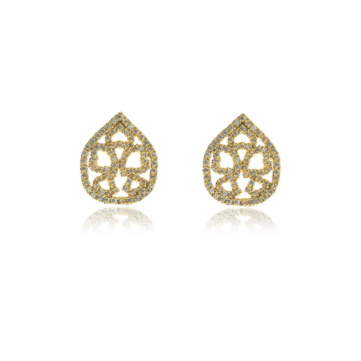 Luxe Gold Drop Earrings