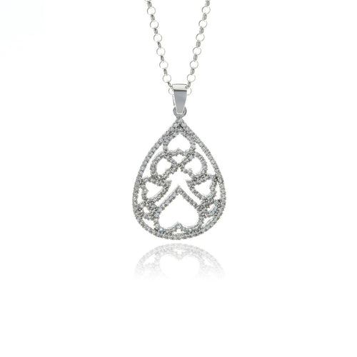Luxe Drop Necklace - Georgina Jewelry