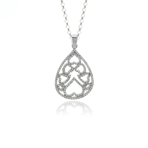Chandelier Long Diamond Necklace