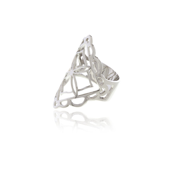 Signature Diamond Shape Ring - Georgina Jewelry