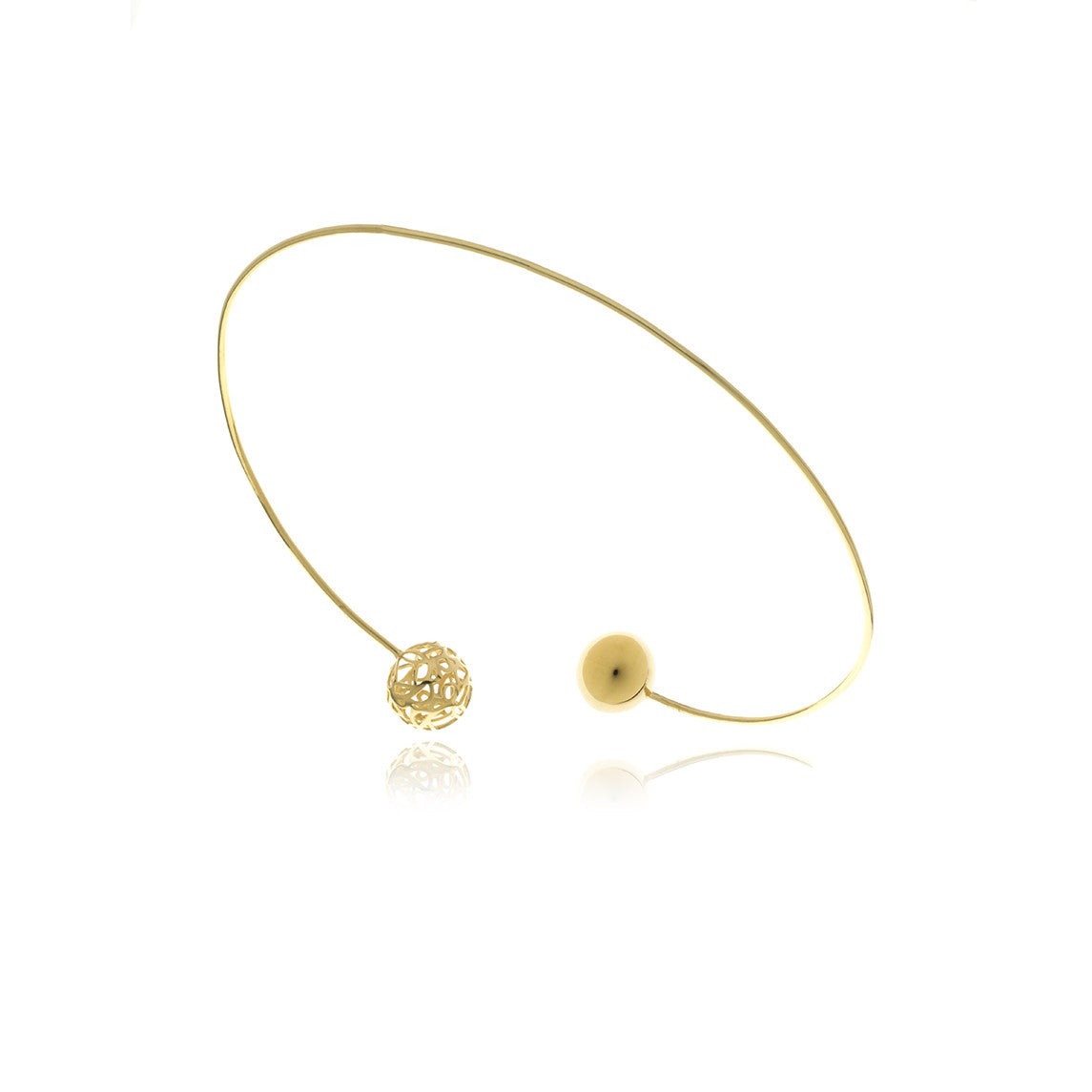 Signature Sphere Shocker Necklace - Georgina Jewelry