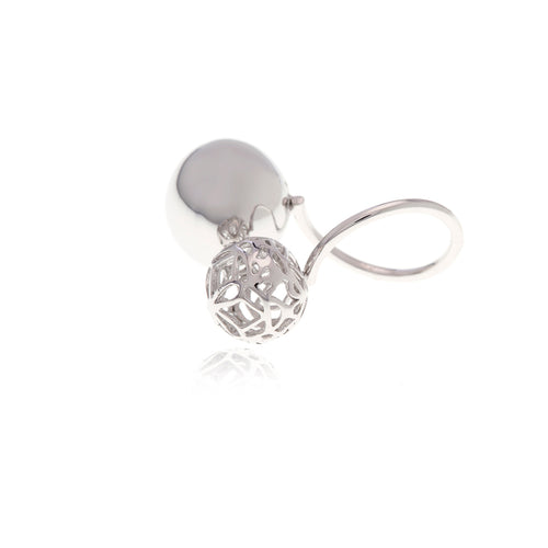 Signature Sphere Silver  Ring - MCK Brands