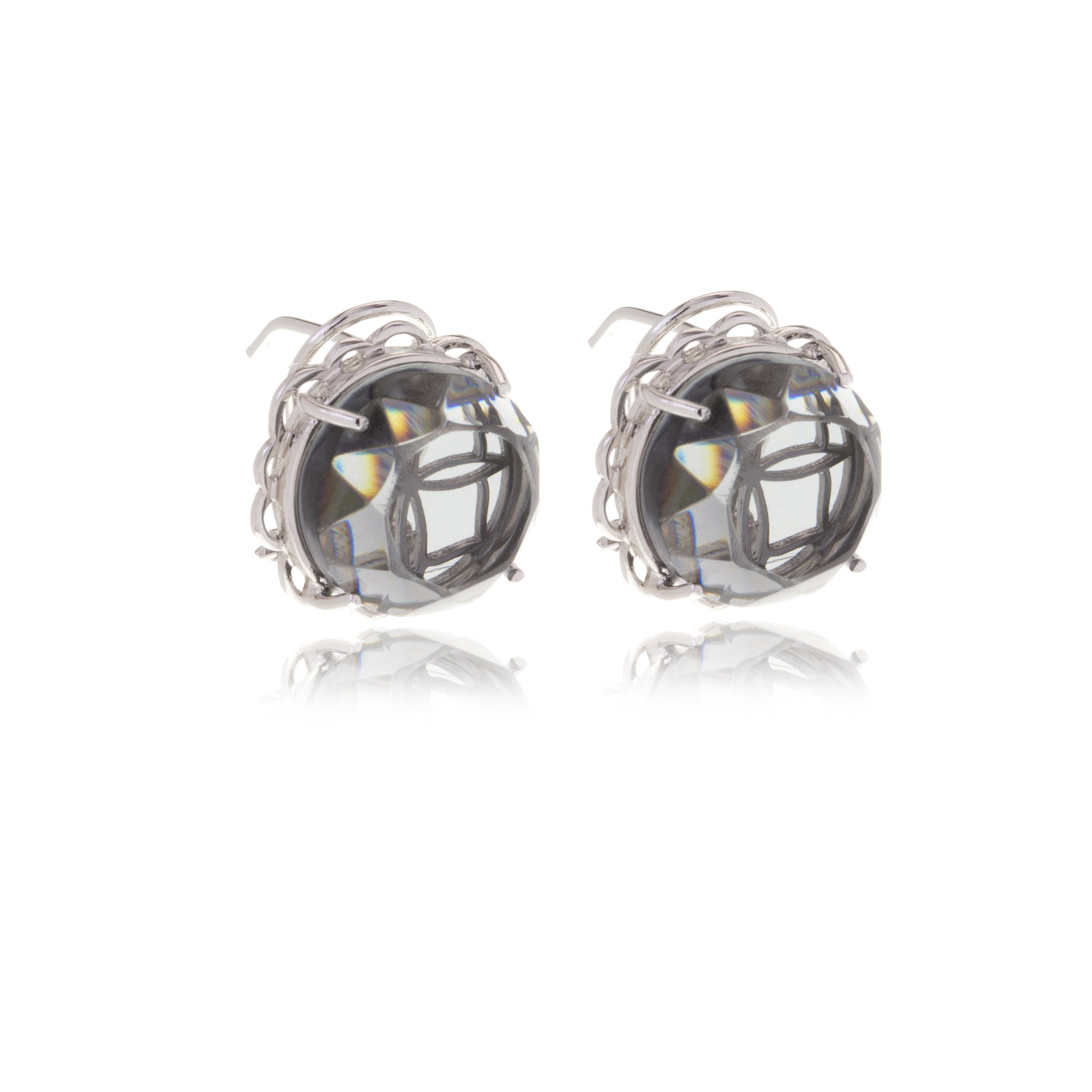 Signature Crystal Earrings - Georgina Jewelry