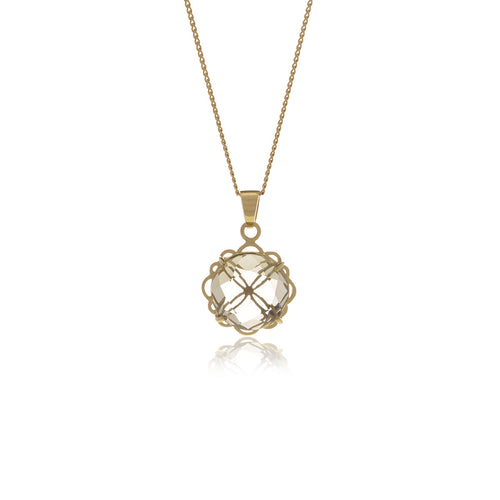 Signature Gold  Crystal Necklace - MCK Brands