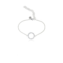 Infinity Diamond Bracelet - Georgina Jewelry