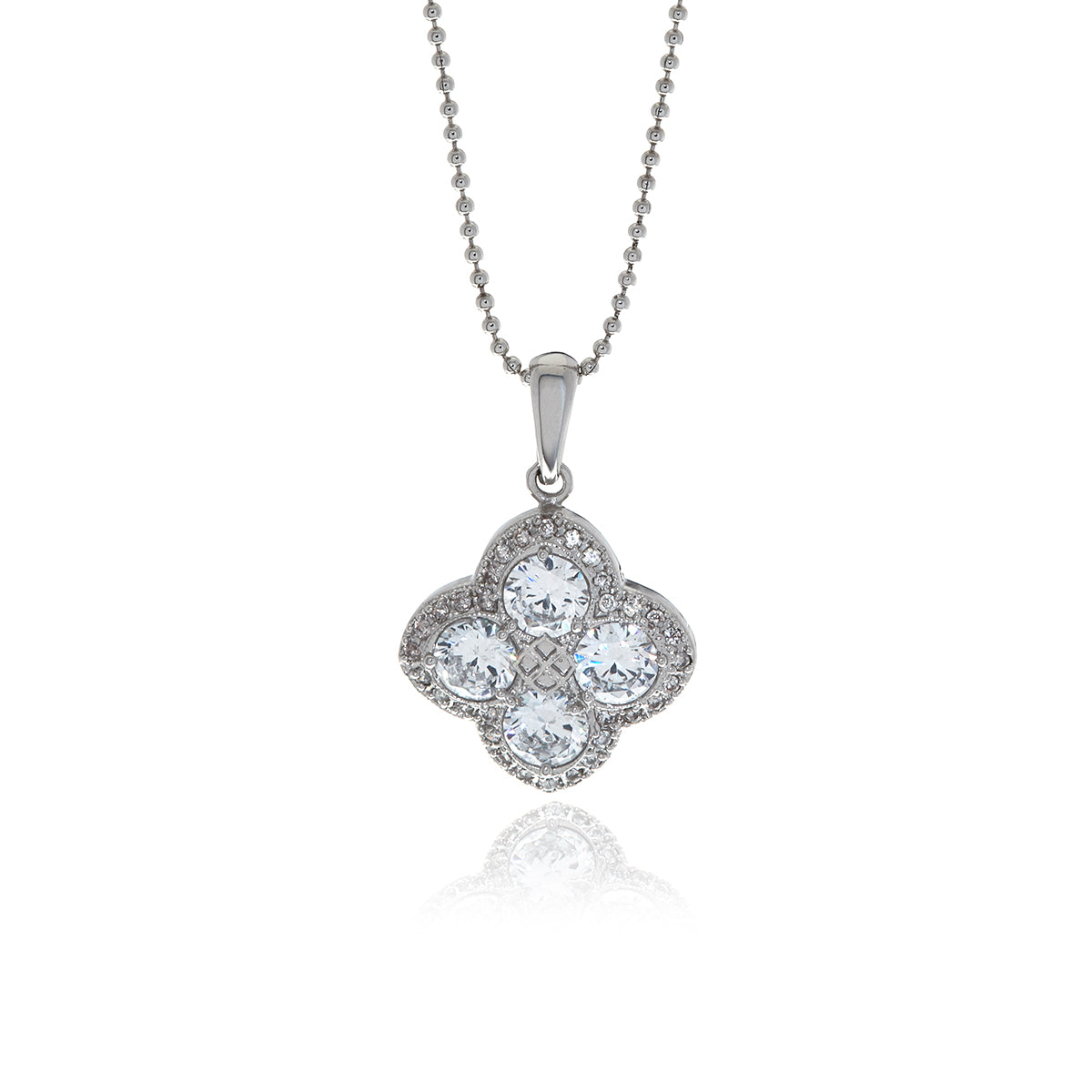 Chandler Diamond Flower Pendant - MCK Brands