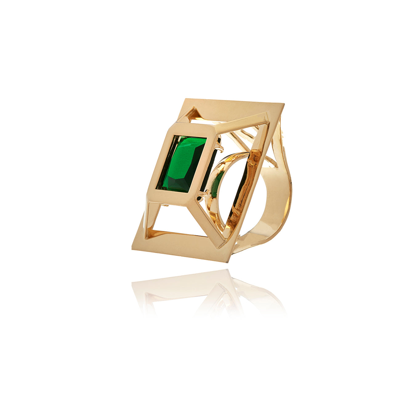 Square Ring - Georgina Jewelry