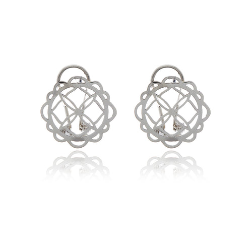 Signature Flower Earrings - MCK Brands