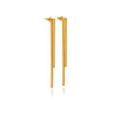 Double Bar Earrings - Georgina Jewelry