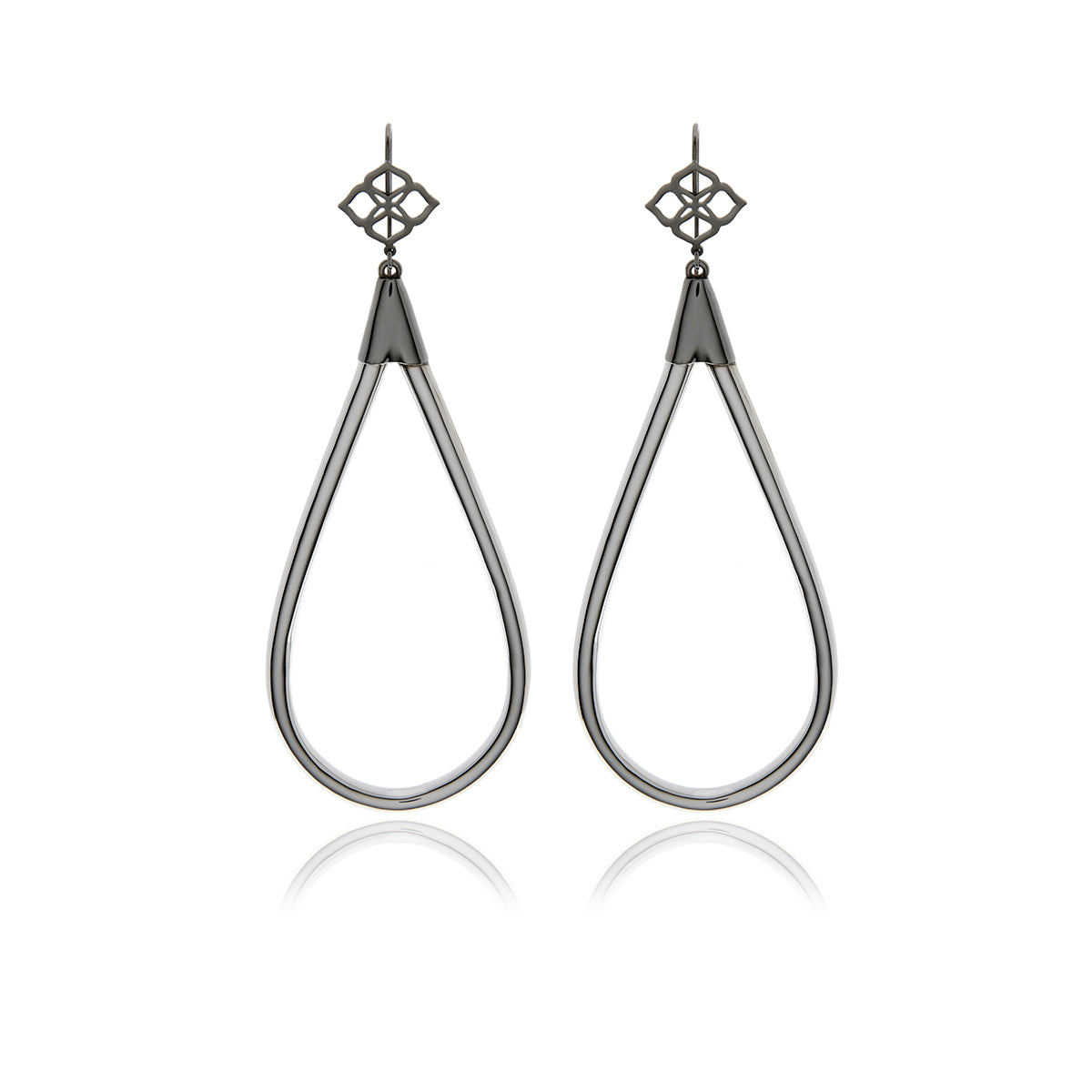Runway Drop Long Earrings - Georgina Jewelry