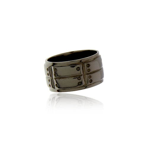 Signature Black Rhodium Ring for MEN