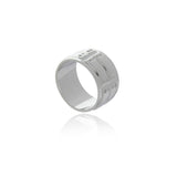 Signature Rhodium Ring for MEN - Georgina Jewelry
