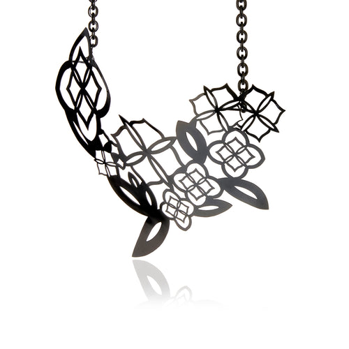Signature Black Rhodium Necklace - MCK Brands