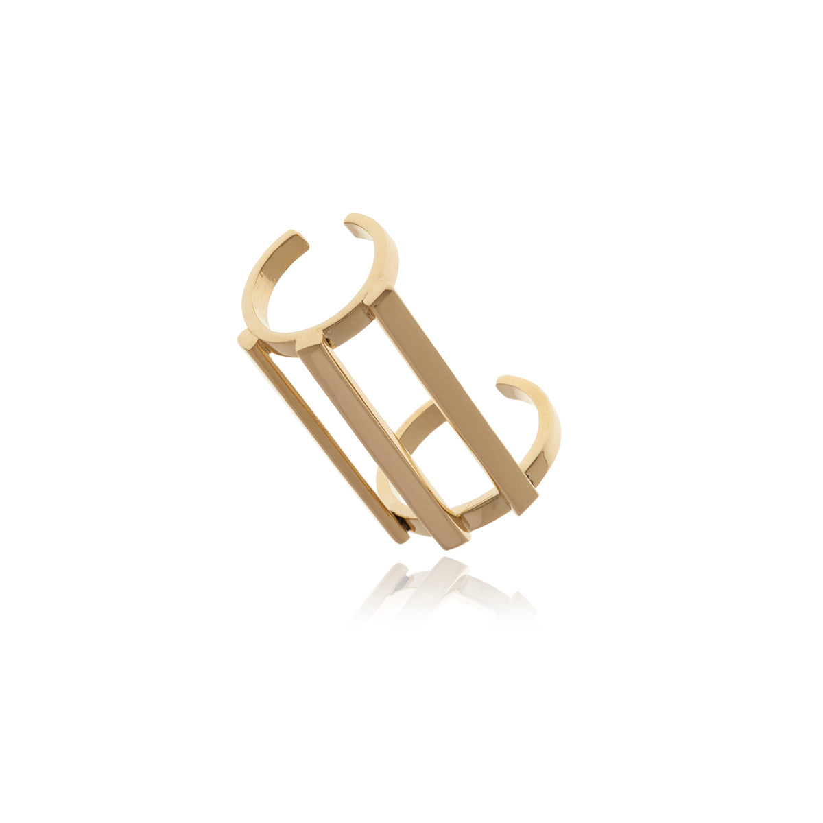 Gold Omega Ring - MCK Brands