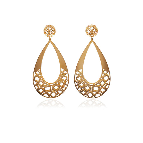 Signature Gold Drop Earrings - MCK Brands