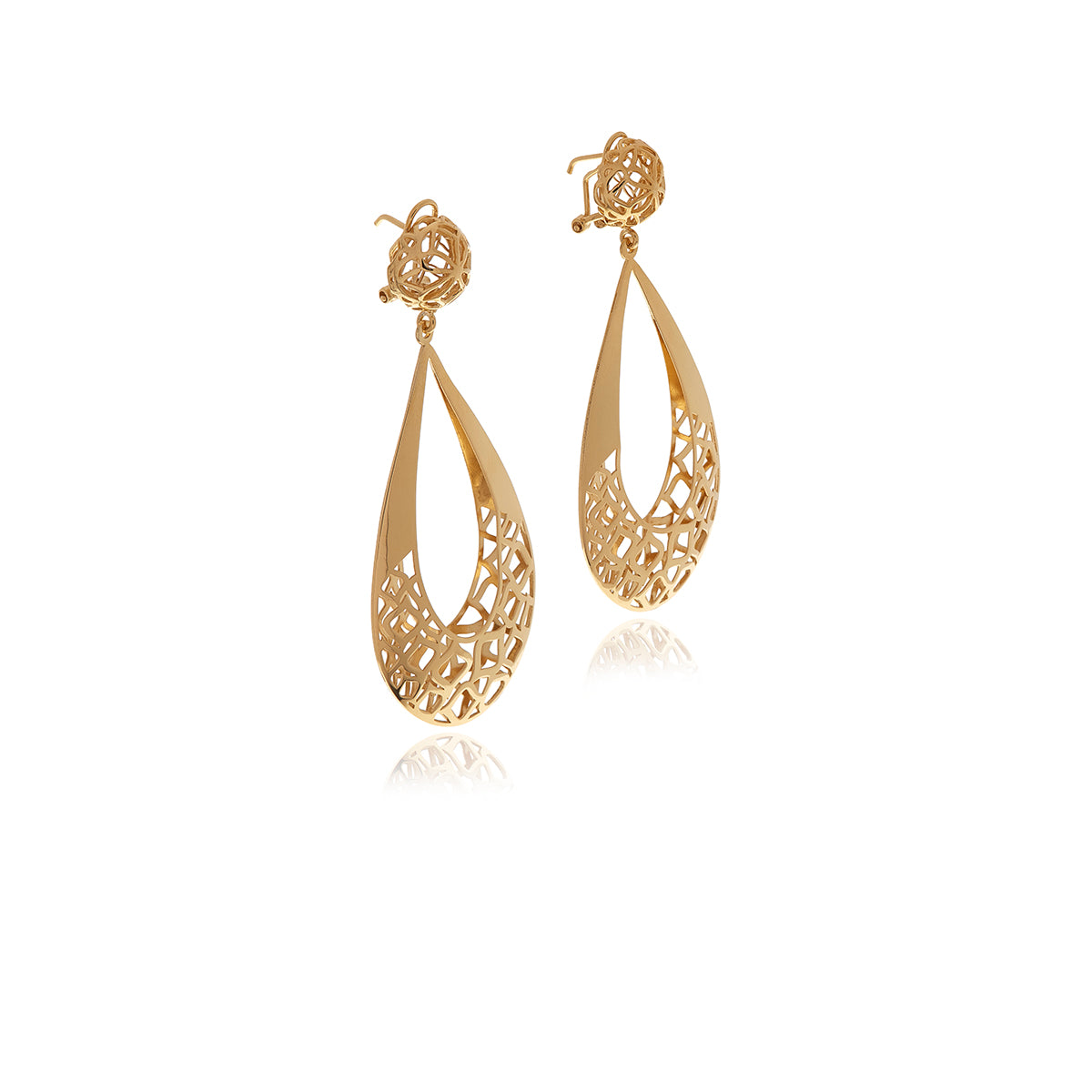 Signature Gold Drop Earrings