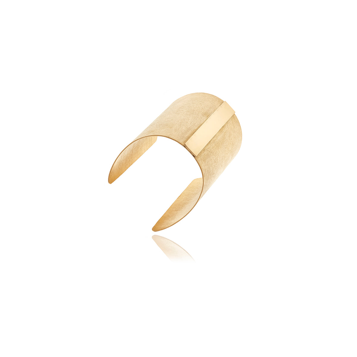Gold Bar Runway Bracelet - Georgina Jewelry