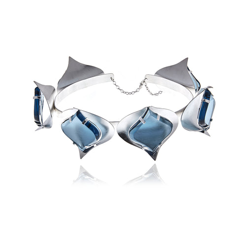 Signature Silver Petals Necklace - MCK Brands