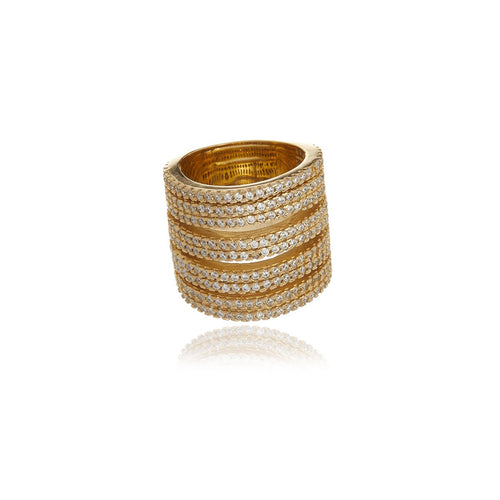 Gold Raffine Dream Ring