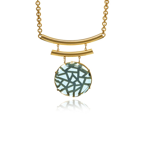 Les Racines Roots Runway Medallion Necklace