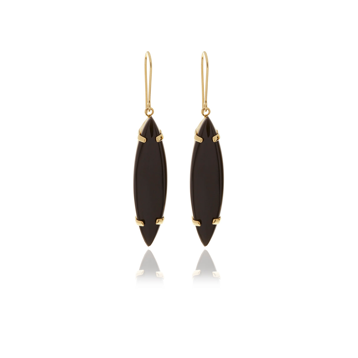 Signature Onyx Earrings - Georgina Jewelry