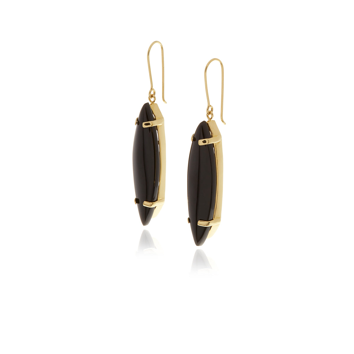 Signature Onyx Earrings - MCK Brands