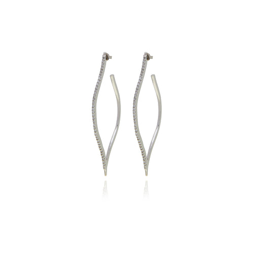 Petal Diamond  Earrings - Georgina Jewelry