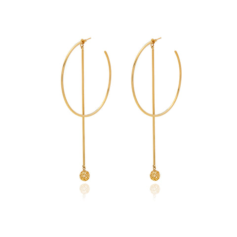 Runway Gold Earrings