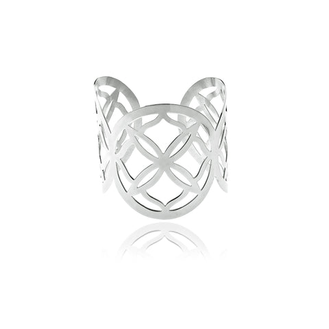 Runway Sterling Silver Ring