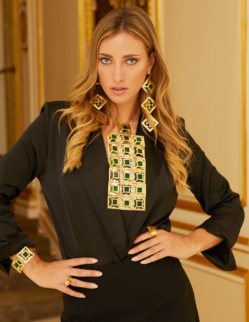 Releve Runway Penacho Necklace - Georgina Jewelry