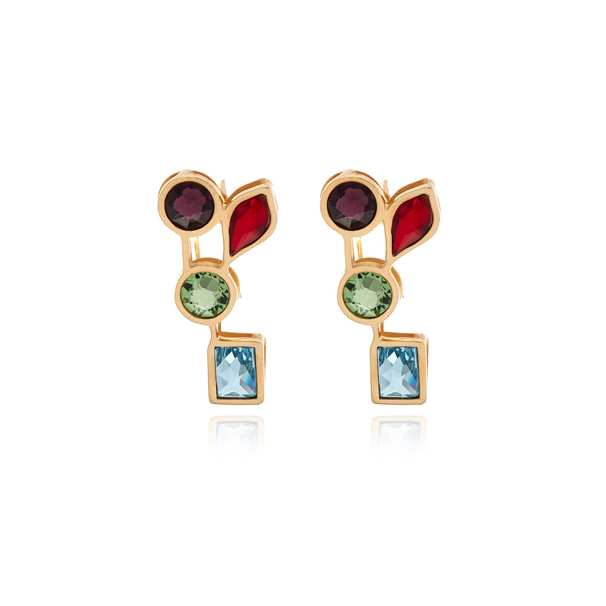 Luxe Gold Earrings