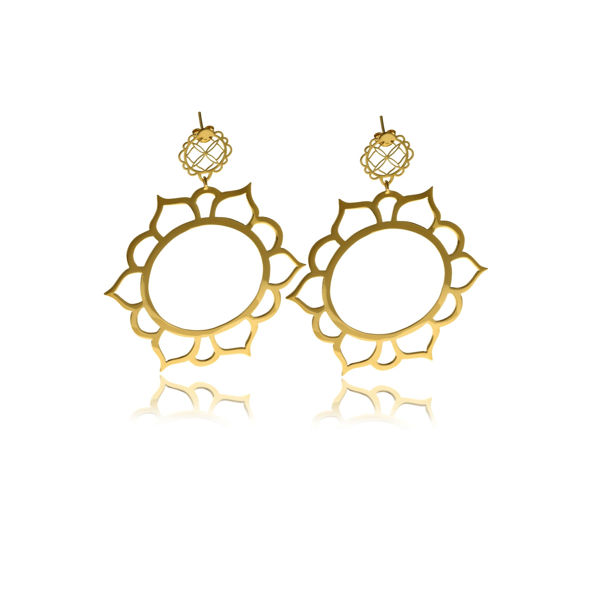 Signature Gold Earrings - MCK Brands