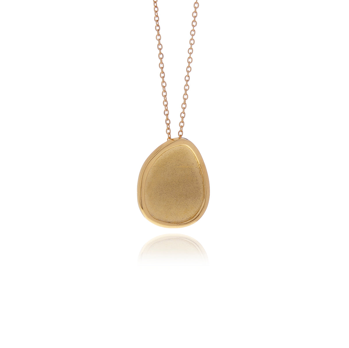 Gold Foil  Necklace - Georgina Jewelry