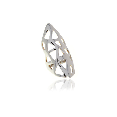 Les Racines Triangle Ring - Georgina Jewelry